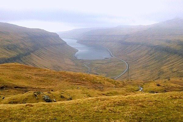 Rensning af vandledning Runavik, Færøerne