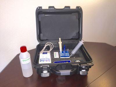 Vandprøver på 10 minutter QGA test kit