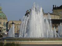 Springvand på Amalienborg Slot
