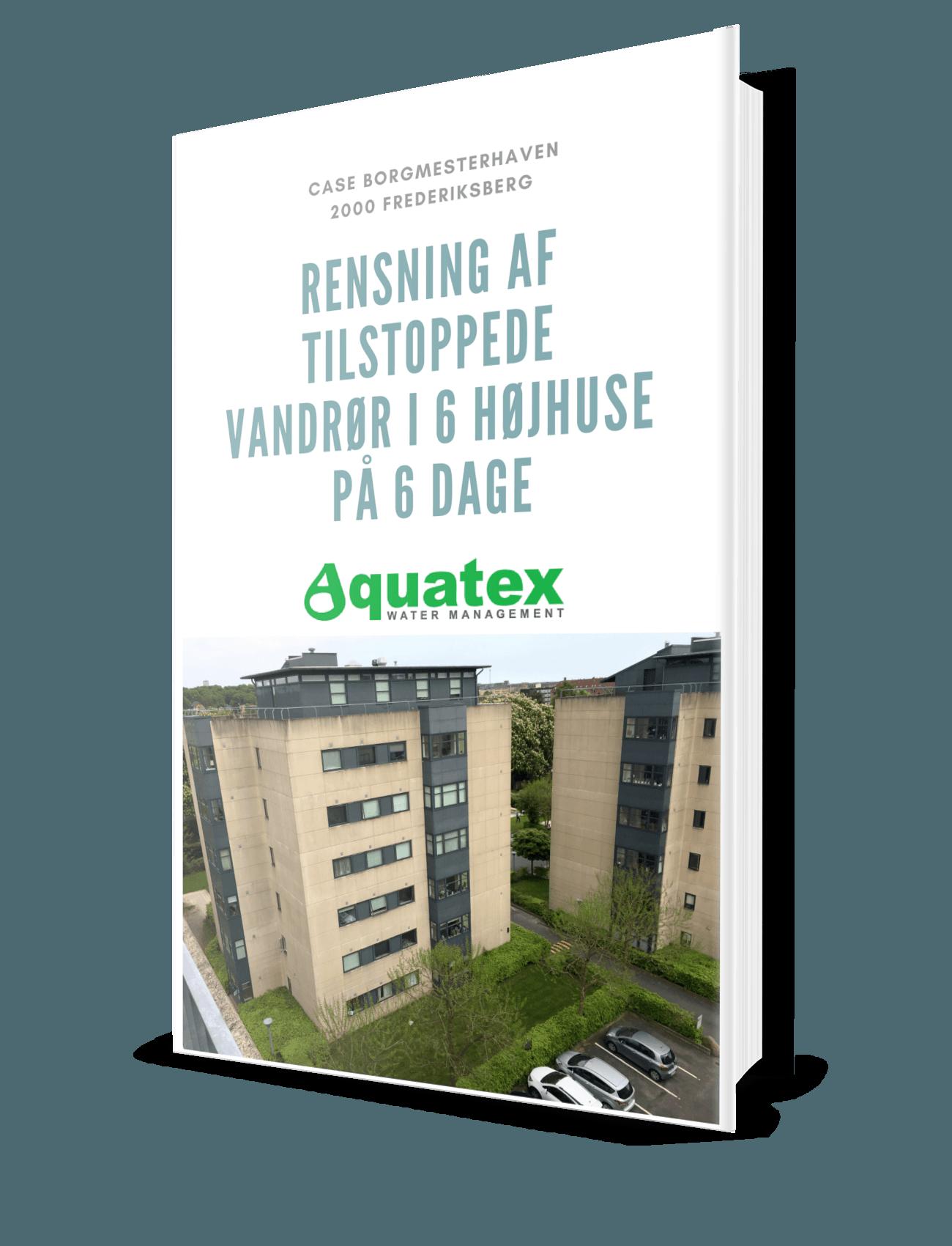Case rensning af vandrør Borgmesterhaven Frederiksberg