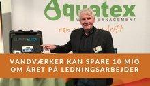 Foredrag: Vandværker kan spare 10 mio om året på ledningsarbejder