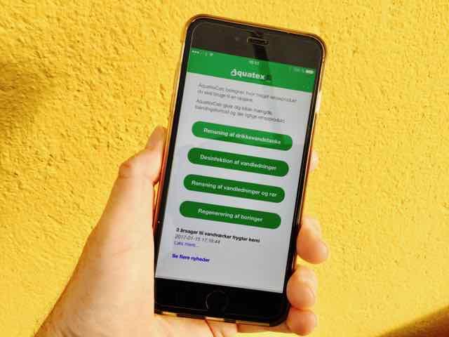 AquatexCalc app beregner dine renseopgaver