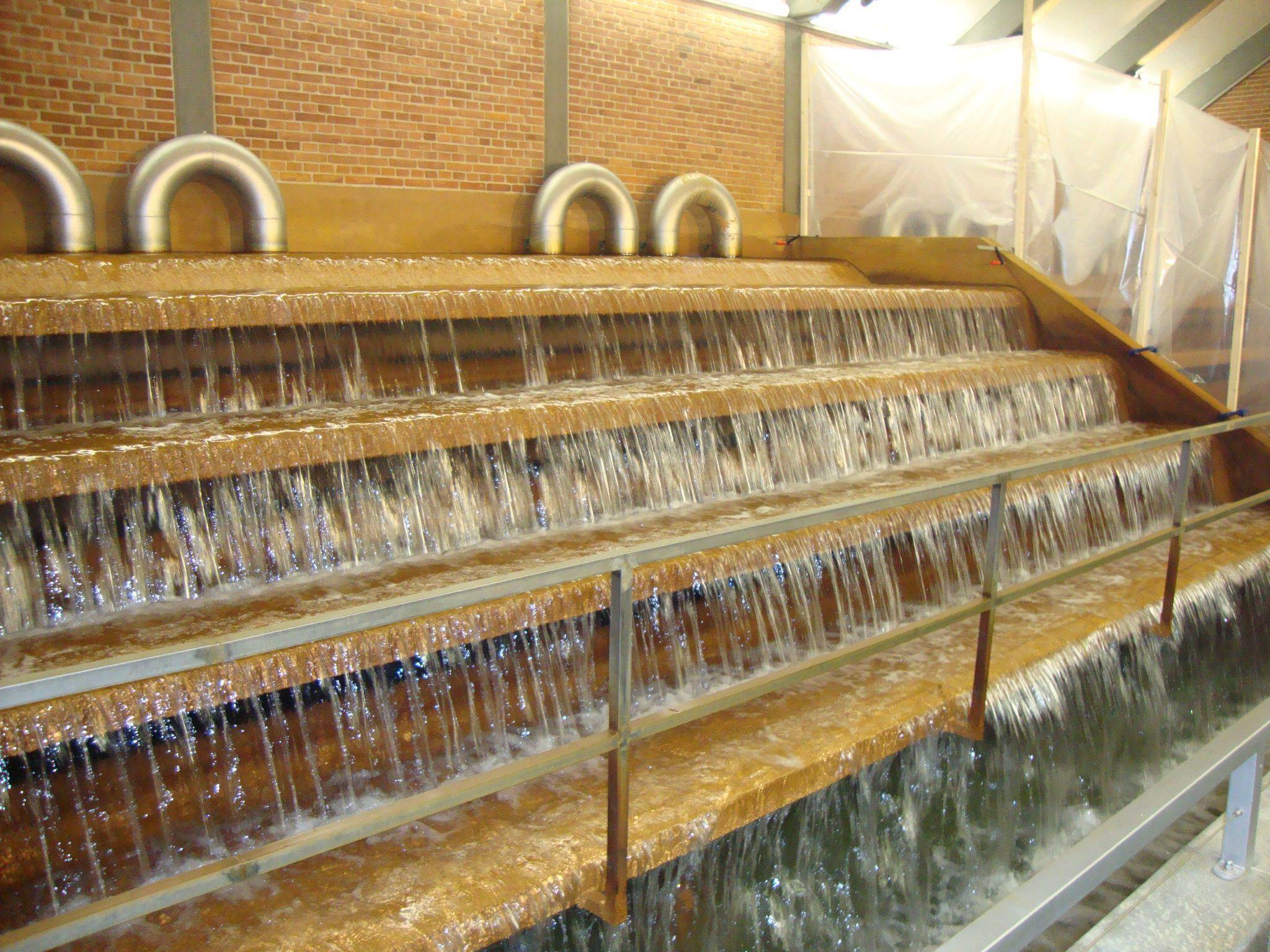 Iltningstrappe vandværk