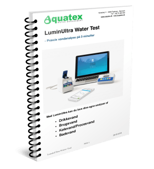 LuminUltra Water Test brochure