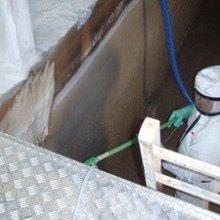 renovering af rentvandsbeholder på vandværk