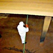 Rensning af iltningstrappe for okker på vandværk